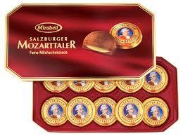Mirabell Mozart tallér 10db-os, díszdobozban 200g