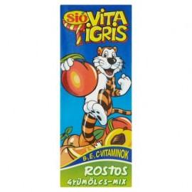 Sió Vitatigris rostos gyümölcsmix 25% 0,2l 1/27
