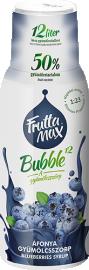 Frutta Max Bubble áfonya gyümölcsszörp 500ml 1/8