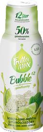 Frutta Max Bubble bodza-lime-menta gyümölcsszörp 500ml 1/8