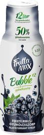 Frutta Max Bubble feketeribizli gyümölcsszörp 500ml 1/8