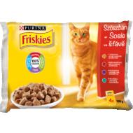 Friskies Cat Multipack Húsos válogatás (csirke+marhahús) 4x85g 1/12