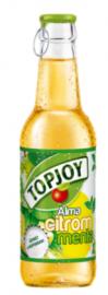 Topjoy üveges citrom-menta 0,25l 1/24
