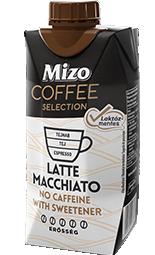 Mizo Coffee Latte Macchiato laktózmentes, koffeinmentes 330ml