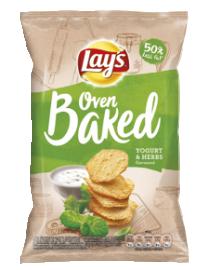 Lay's 65g Baked Joghurtos-zöldfűszeres (csökk. zsírtart.) 1/12 (941201420)