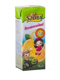 Szobi Narancsital 12% 0,2l 1/27