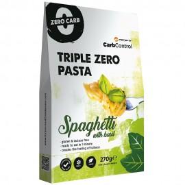 Triple Zero Pasta Spaghetti bazsalikommal 270g