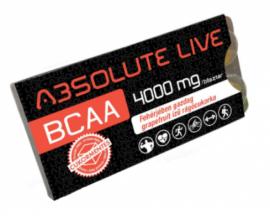 Rágótabletta Absolute Live Lkarnitin (ananász)+BCAA (grapefruit) 260g 1/20