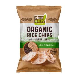 Rice Up! BIO chia&quinoa chips 25g