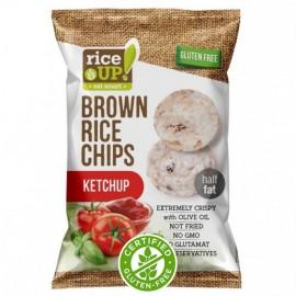 Rice Up! ketchup chips 60g