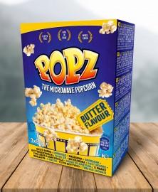 POPZ vajas popcorn 3PACK 3x90g 1/12
