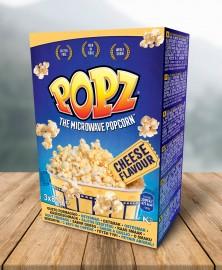 POPZ sajtos popcorn 3PACK 3x85g