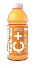 Vitamin Aqua C-vitamin ananász-passiógyümölcs 600ml 1/6
