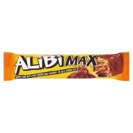 Alibi Max wafers szelet Karamell és Rizs tejcsokis 49g 1/32