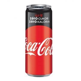 Coca Cola 0,25l Zero CAN 1/24