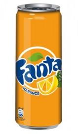 Fanta 0,25l Narancs CAN 1/24