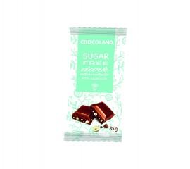 Chocoland cukormentes mogyorós csoki 85g 1/15