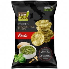 Rice Up! pesto chips 60g 1/24