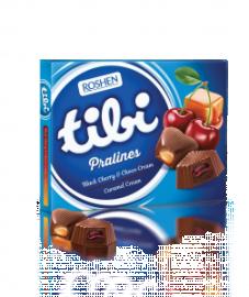 Tibi praliné 119g cser-caramell tejcsok 1/10