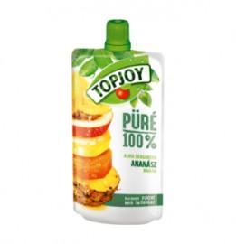 Topjoy Püré alma-ananász 120g 1/12