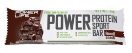 PLT Power bar Double-chocolate 50g 1/20