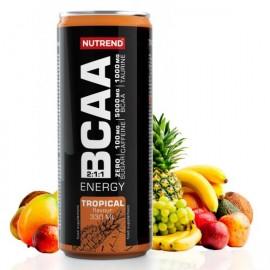 BCAA Energy drink Tropical 330ml 1/24