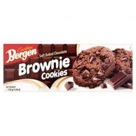 KomoFood Bergen Brownie csokis keksz 126g