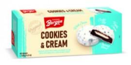KomoFood Bergen Cookies & Cream vaníliás fekete keksz 128g 1/18