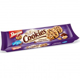 KomoFood Bergen Cookies csoki csíkos mogyorós keksz 150g