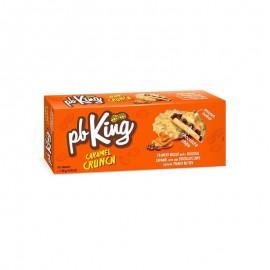 KomoFood PB King karamellás keksz mogyoróvajjal bevonva 140g