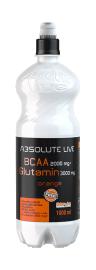 Absolute Live BCAA 2000mg+Glutamin 3000mg Orange 1l