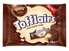 KomoFood Tofflairs csokoládéval bevont tejkaramella 120g 1/13