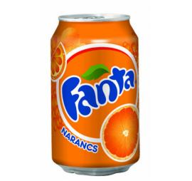 Fanta 0,33l Narancs CAN 1/24