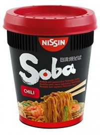 Nissin Soba Cup sült tészta 92g CHILI