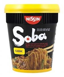 Nissin Soba Cup sült tészta CLASSIC 92g 1/8