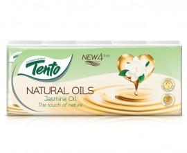 Tento Natural Oils Jasmine papírzsebkendő 4rét 24/10x10