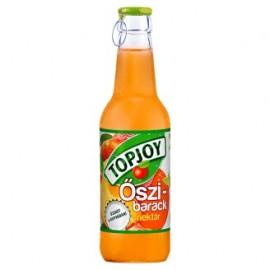 TopJoy 0,25l üveges őszibarack 50%