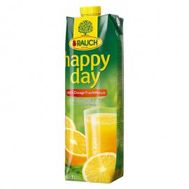 Happy Day 1L Narancs gyümölcshússal 100%