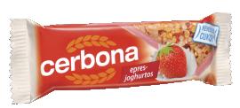 Cerbona müzliszelet epres-joghurtos  20g 1/20