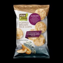 Rice Up! gorgonzola sajtos chips 60g