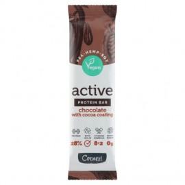 Cornexi Active Vegan Csokoládés feh.szelet kakaós bevonattal 45g