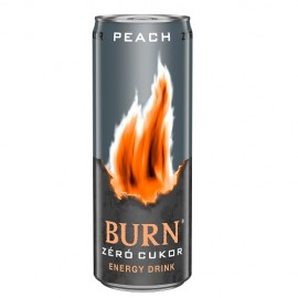 Burn 0,25l Zero Fury Málna