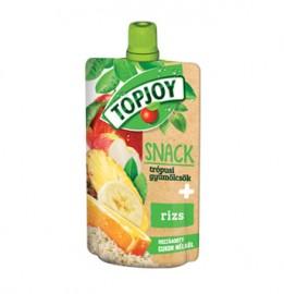 Topjoy Püré trópusi gyümölcs+rizs cuk.mentes 100g