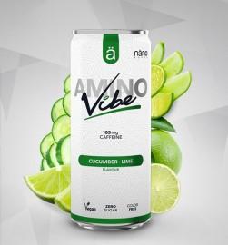 Amino Vibe 330ml Cucumber-lime