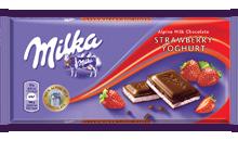 Milka epres-joghurtos 100g 1/20