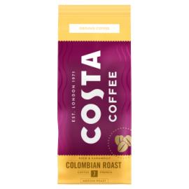 Costa Coffee 200g Colombian Roast pörkölt őrölt kávé (SÁRGA-7)