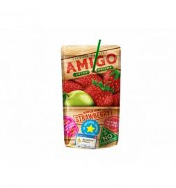 Amigo szívószálas eper 0,2l