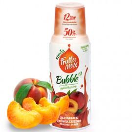 Frutta Max Bubble őszibarack gyümölcsszörp 500ml 1/8