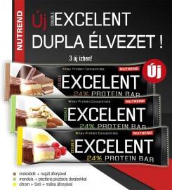 Excellent protein bar csoki nugát 85g 1/18