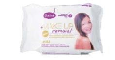 Violeta nedves kozmetikai kendő make-up, 25 db 1/14